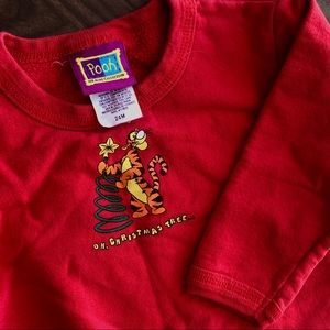CLASSIC Winnie the Pooh Christmas Pullover - 24m